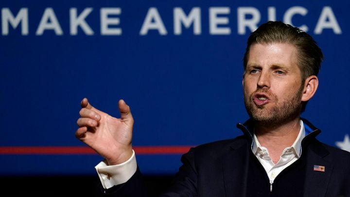 Eric Trump, the president's son, owns Trump Winery in Virginia.