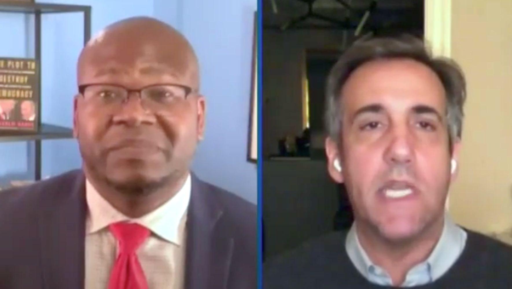 Michael Cohen Predicts How Trump Will Dodge Biden's Inauguration