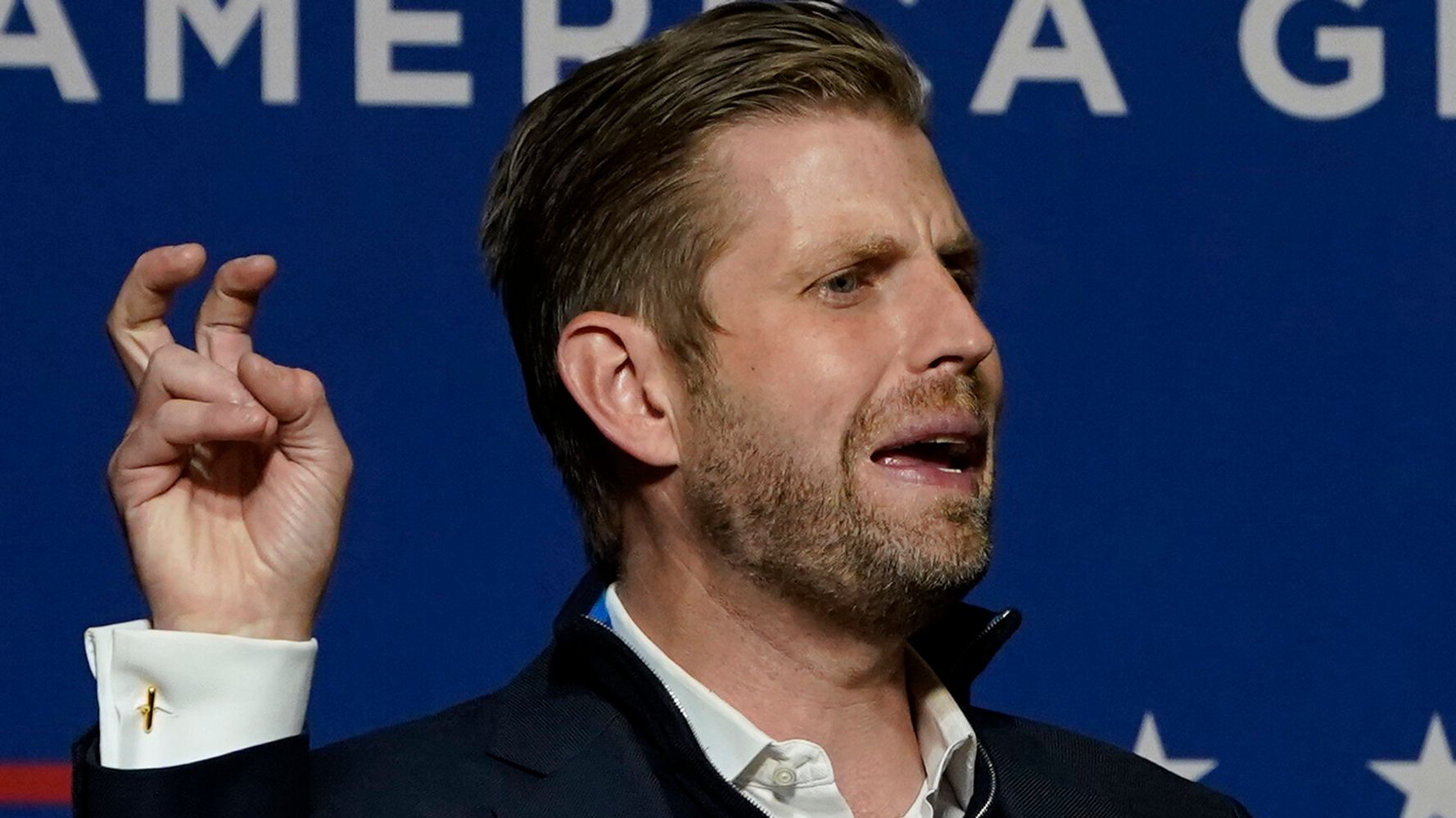Eric Trump's Latest Attempt To Question The Election Goes Awry