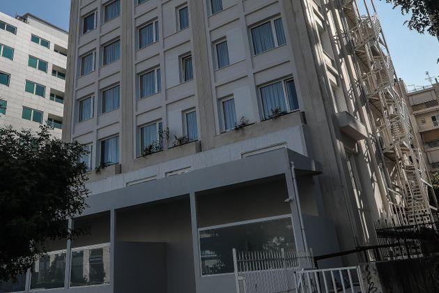 To ξενοδοχείο στην Συγγρού...