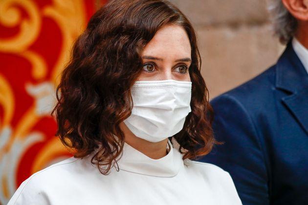 Isabel Díaz Ayuso, el 25 de agosto de 2020 (Europa Press News/Europa Press via Getty
