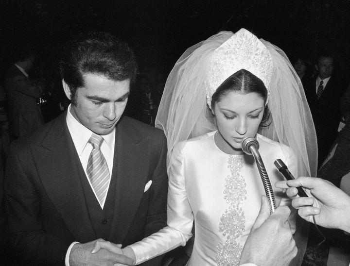 Paquirri y Carmina Ordoñez se casaron en 1973.