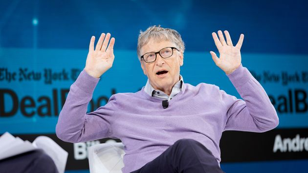 Bill Gates en el New York Times Dealbook