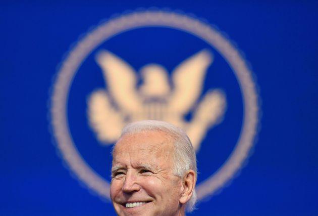 El presidente electo de Estados Unidos, Joe