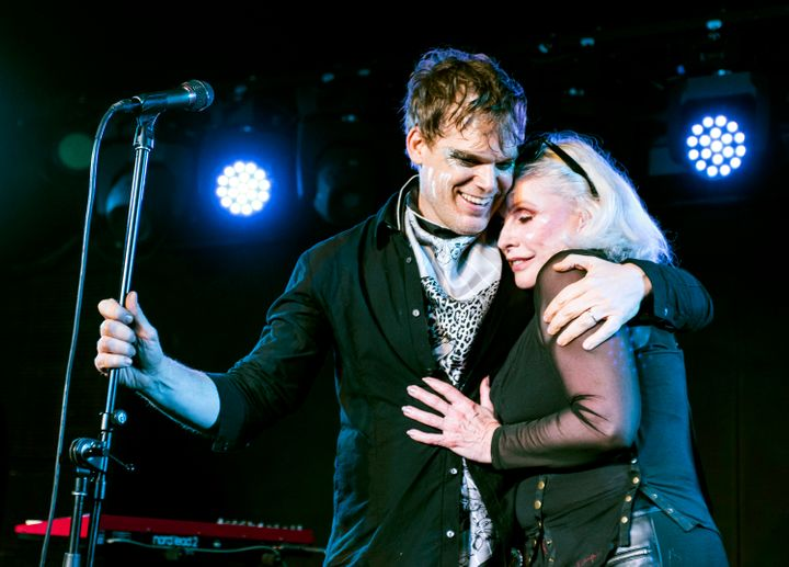 """We write in every way imaginable,"" said Hall, with Blondie's Debbie Harry in February."