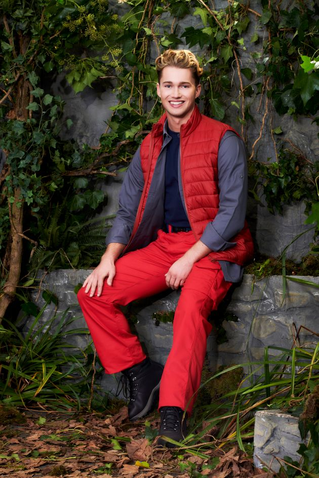 AJ Pritchard is currently in the I'm A Celebrity
