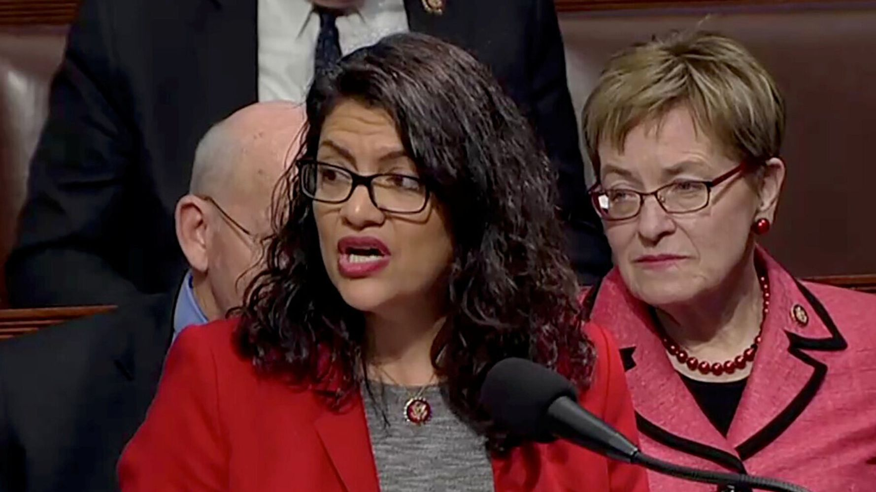 Progressive Rep. Rashida Tlaib Fires Back At Centrist Democrats: 'I Can't Be Silent'