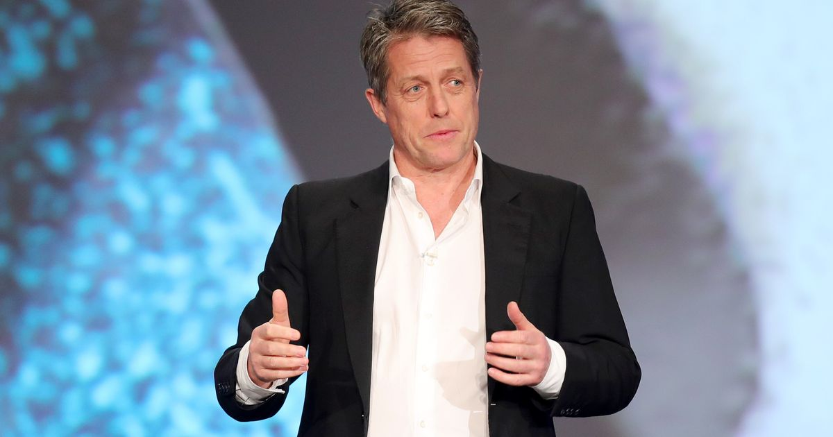 'It Was Like A Poncho Of Sweat': Hugh Grant Describes The Symptoms He Experienced During Covid
