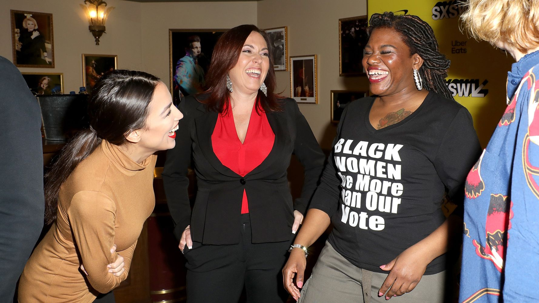 Cori Bush Asked For Help Styling A Congressional Wardrobe. Naturally, Ocasio-Cortez Delivered.