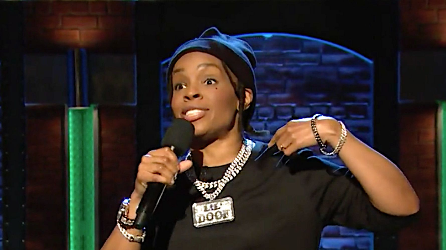 Amber Ruffin's Lil Doof Can't Rap For Trump Anymore On 'Late Night'
