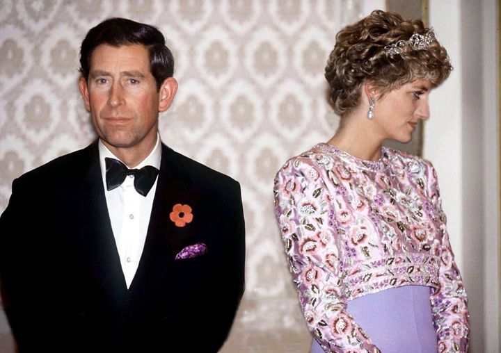 Prince Charles and Princess Diana on their last official trip together, a visit to South Korea in 1992.