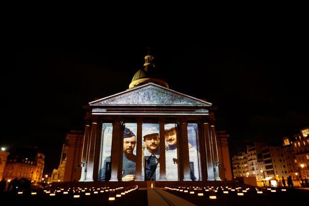 Maurice Genevoix: les images du Panthéon