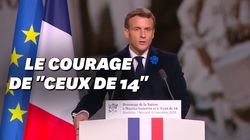"""Pour l'entrée de Genevoix au Panthéon, Macron rend hommage au """"courage"""