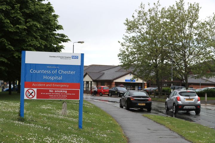<strong>The Countess of Chester Hospital in Chester.</strong>