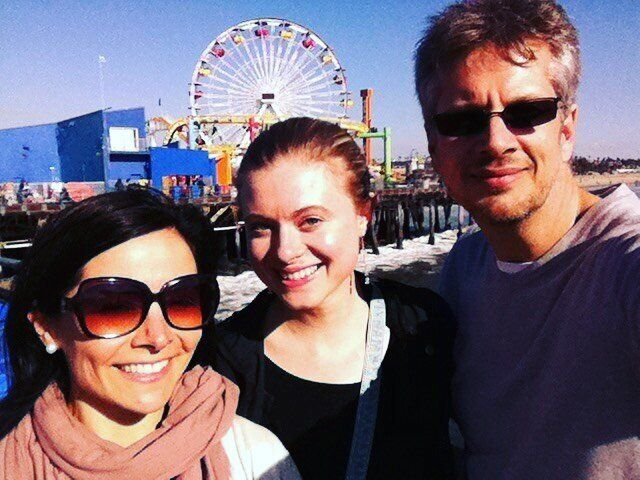 """Sarah Edmondson with Bonnie Piesse and Mark Vicente, both former NXIVM members who are also heavily featured in """"The Vow."""""""