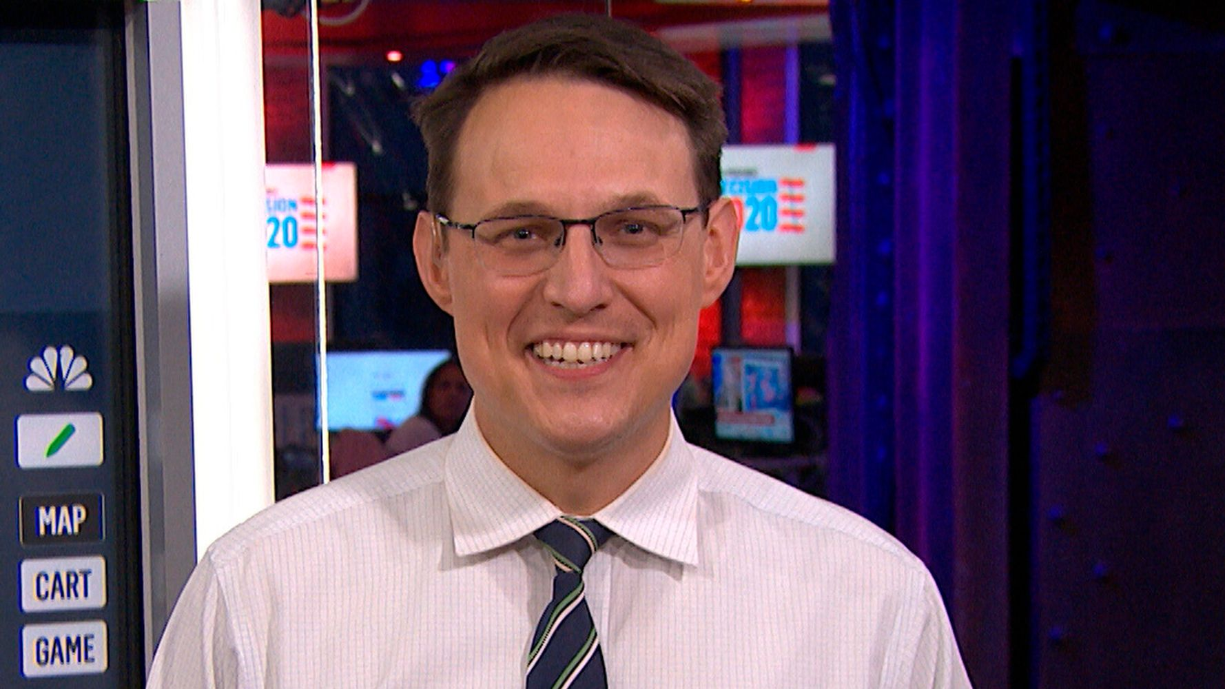 Steve Kornacki Plans To Retire His Iconic Election Night Necktie