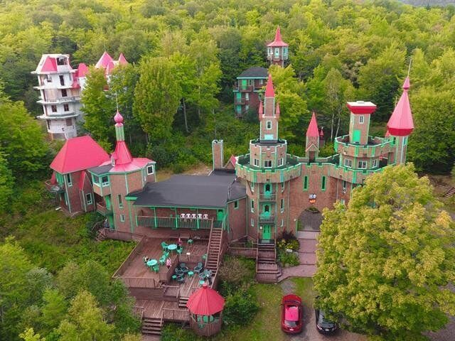 Chateau Bahia, a 16-bedroom castle in Quebec is for sale.