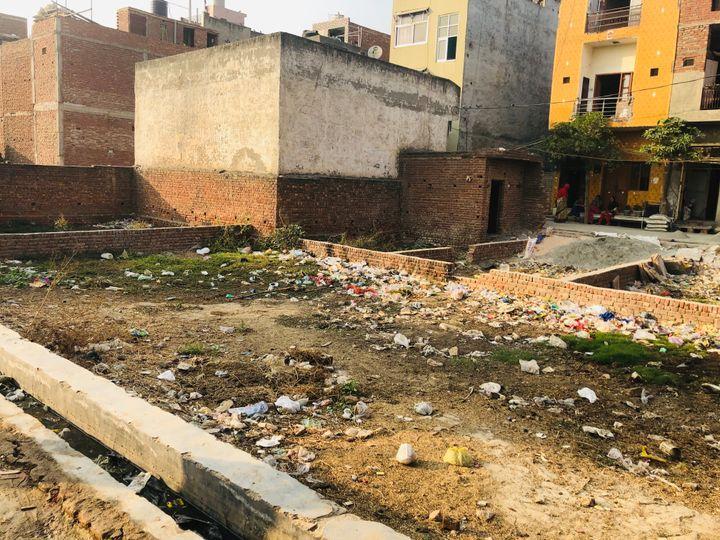 Nothing remains of Mohammed Anwar Kassar's shanty and goat shed in Shiv Vihar, New Delhi. November 7, 2020.