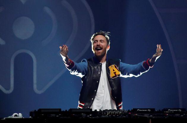 David Guetta, ici lors d'un festival à Las Vegas en 2017, sera à l'affiche du festival...
