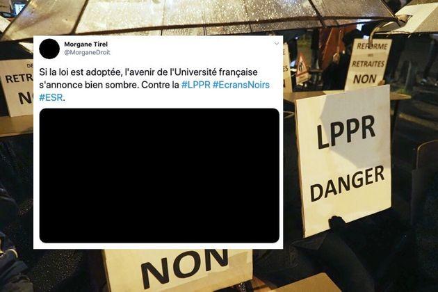 Pourquoi ces universitaires français colorent leurs réseaux sociaux en noir (photo d'illustration...