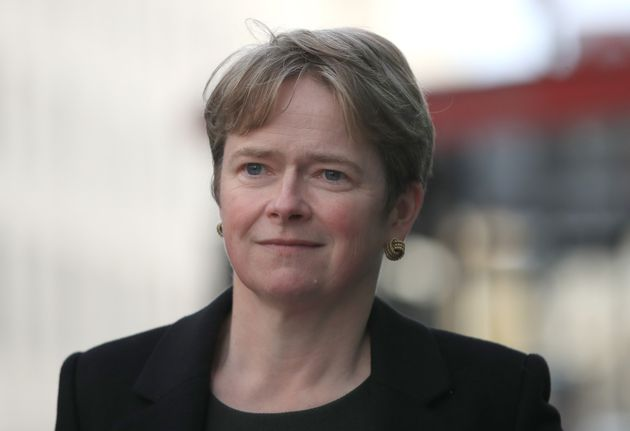 Baroness Dido Harding, executive chair of NHS Test and Trace, in Westminster,
