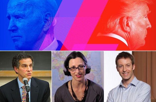 Da sinistra: James A. Gardner, Pamela Harris, Kermit