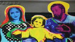Chiara Ferragni è la Madonna nel presepe del Comune. Scatta la polemica: