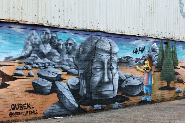 Σάλφορντ, Αγγλία Γκράφιτι...