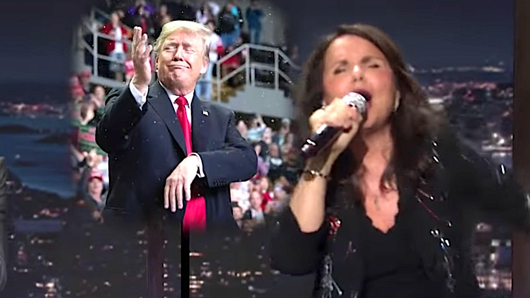 Rocker Patty Smyth Sings 'Goodbye To You' To Donald Trump