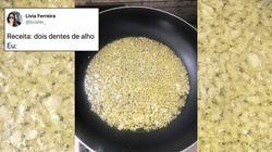 Só quem gosta muito de alho vai se identificar com este