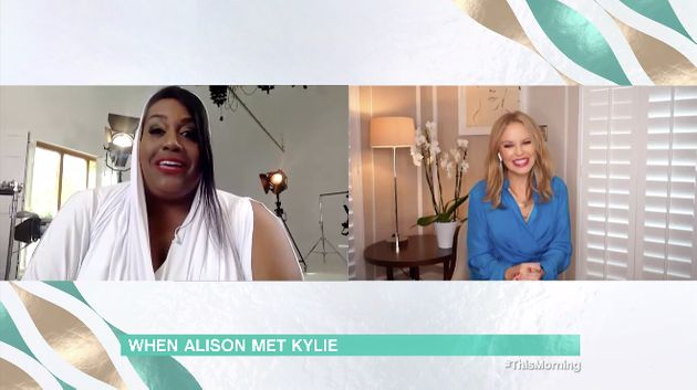 Alison also interviewed Kylie over video