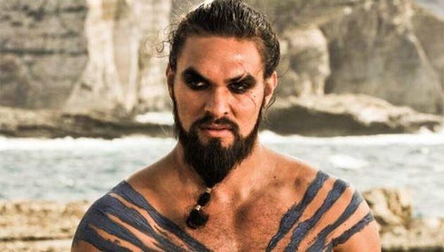 Jason Momoa como Khal Drogo en 'Juego de