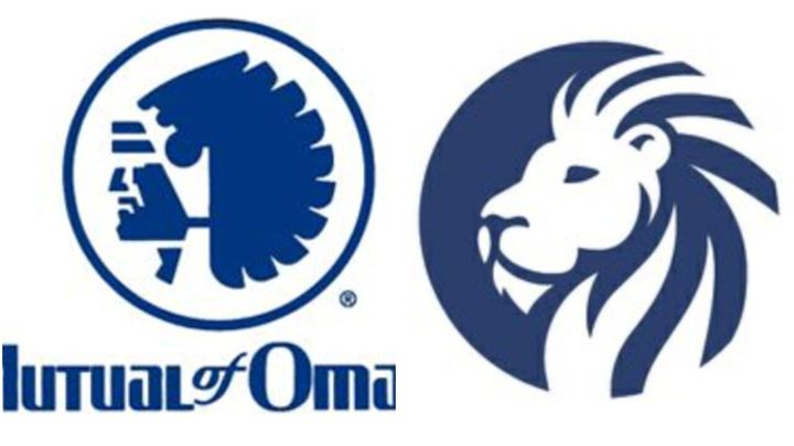 Mutual of Omaha on Thursday unveiled a new corporate logo depicting an African lion, replacing the Indian chief head that had
