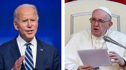 Il Papa benedice Biden: