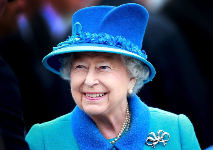 Queen Elizabeth II on Sept. 9, 2015, in Tweedbank, Scotland. On this day, she became the longest reigning monarch in British