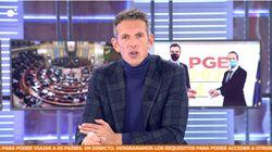 Joaquín Prat, sin miramientos contra Albert Rivera en 'Cuatro al día': lo finiquita en dos