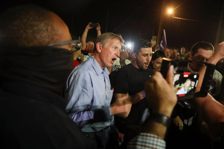 """Rep. Paul Gosar (R-Ariz.) told Trump supporters """"This is our Alamo"""" as besieged election workers counted ballots in Mar"""