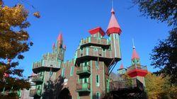 Ce drôle de «château Disney» québécois est à