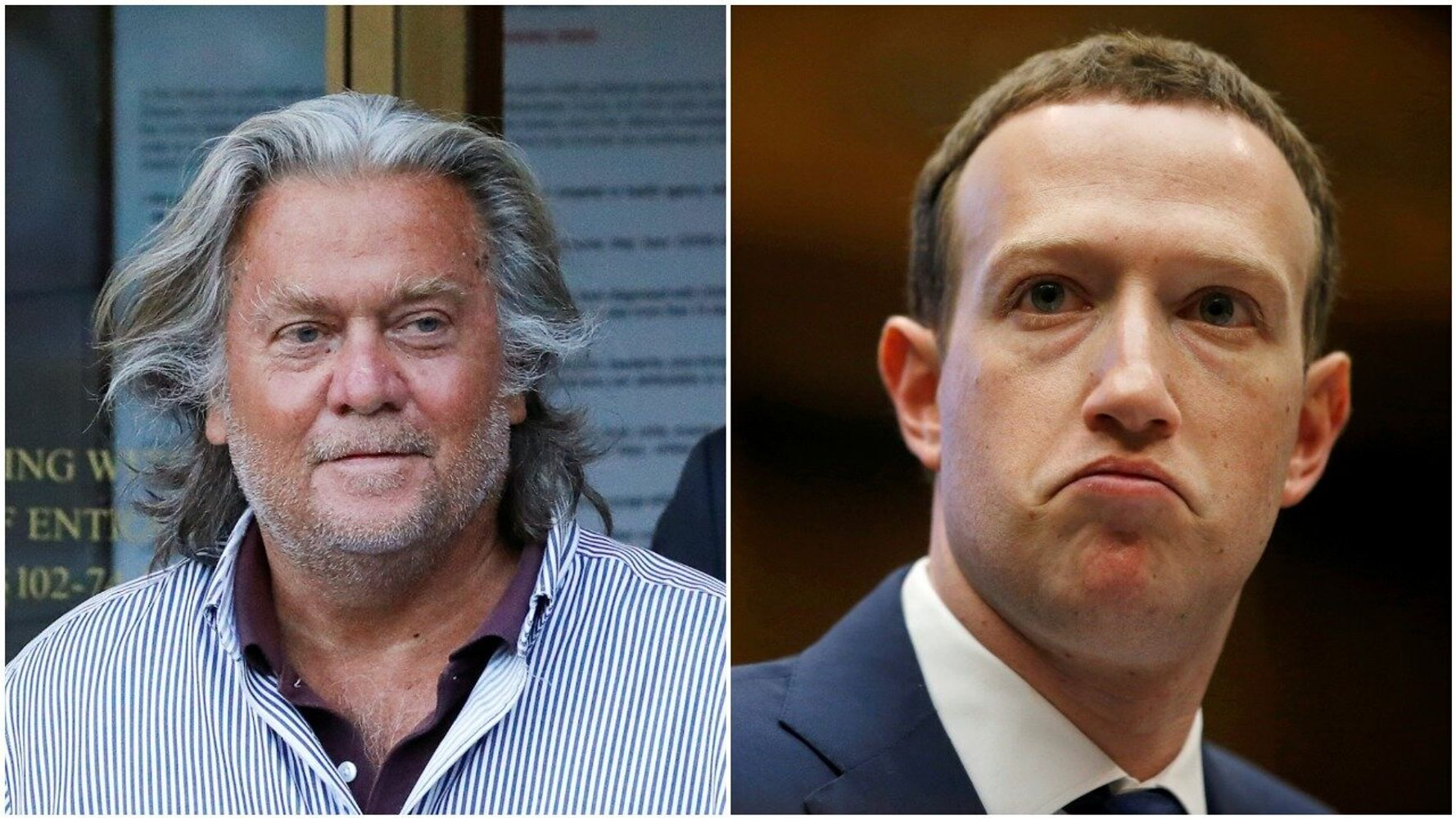 Mark Zuckerberg: Steve Bannon Hasn't Violated Enough Policies For Facebook Ban