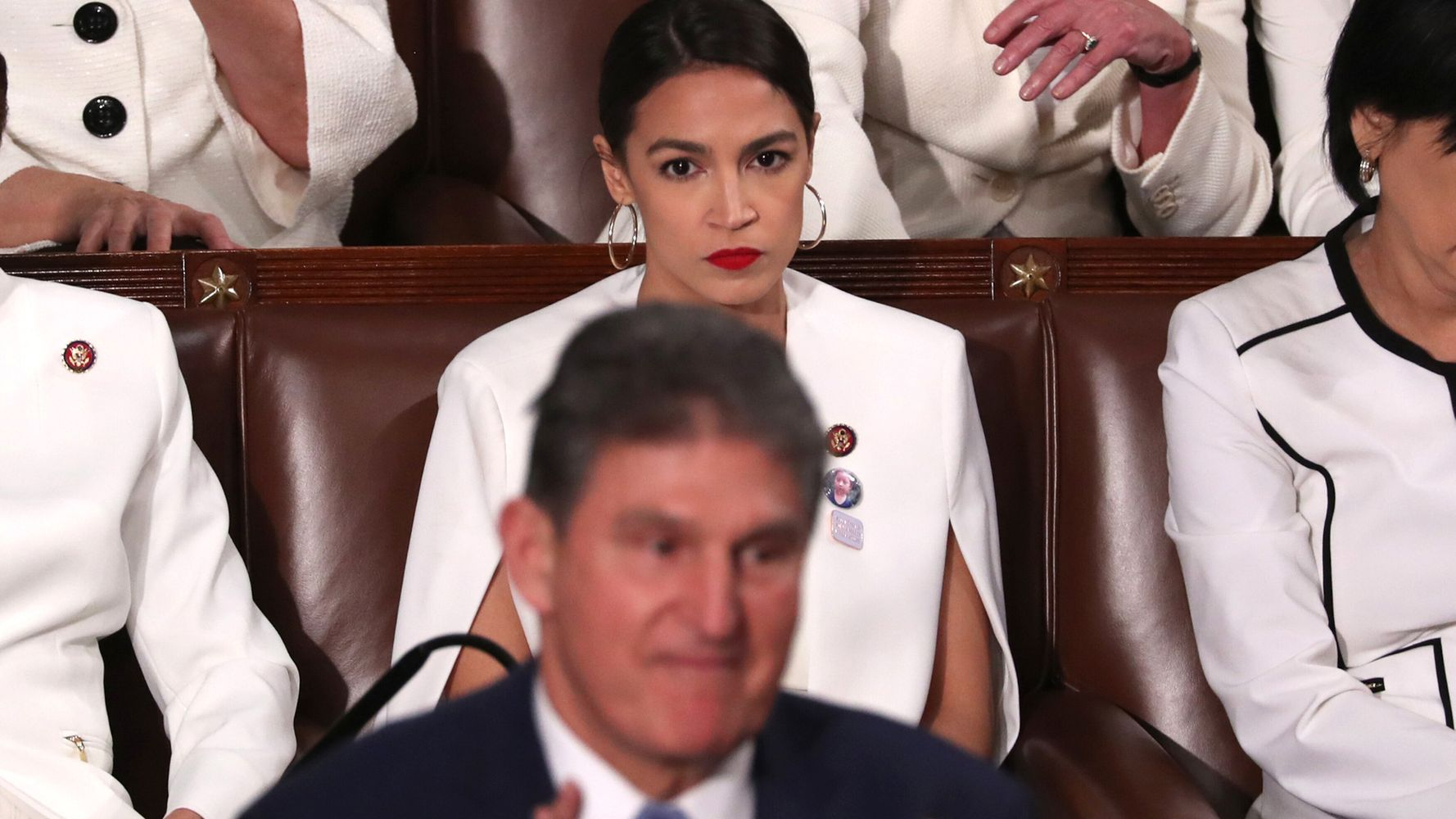 Ocasio-Cortez Counters Senator's 'Crazy Socialist' Tweet With Pic That Says It All