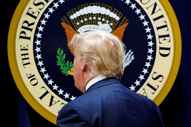 (자료자신) 도널드 트럼프 미국 대통령은 대선 패배 이후 공개 일정을 거의 잡지 않은 채 칩거하는