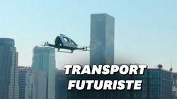 Ces premiers drones taxi devraient arriver à Séoul en