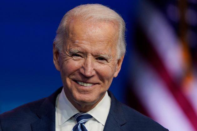 El presidente electo Joe Biden, el 10 de noviembre de 2020 en Wilmington, Delaware (AP Photo/Carolyn