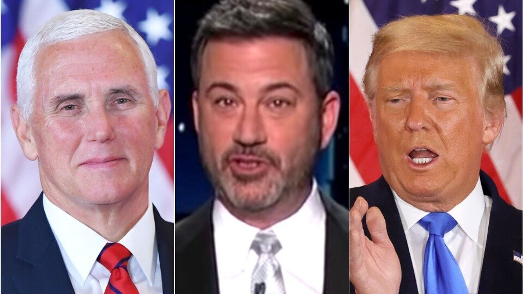 Mike Pence Vs. Donald Trump? Jimmy Kimmel Spots The VP's 'Sneaky' Twitter Move