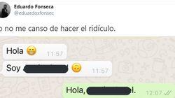 Un compañero del trabajo le manda un WhatsApp y su respuesta de dos palabras conquista