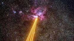 Φωτογραφία: «Διαστημικός πόλεμος» με λέιζερ μεταξύ Γης και του Νεφελώματος της