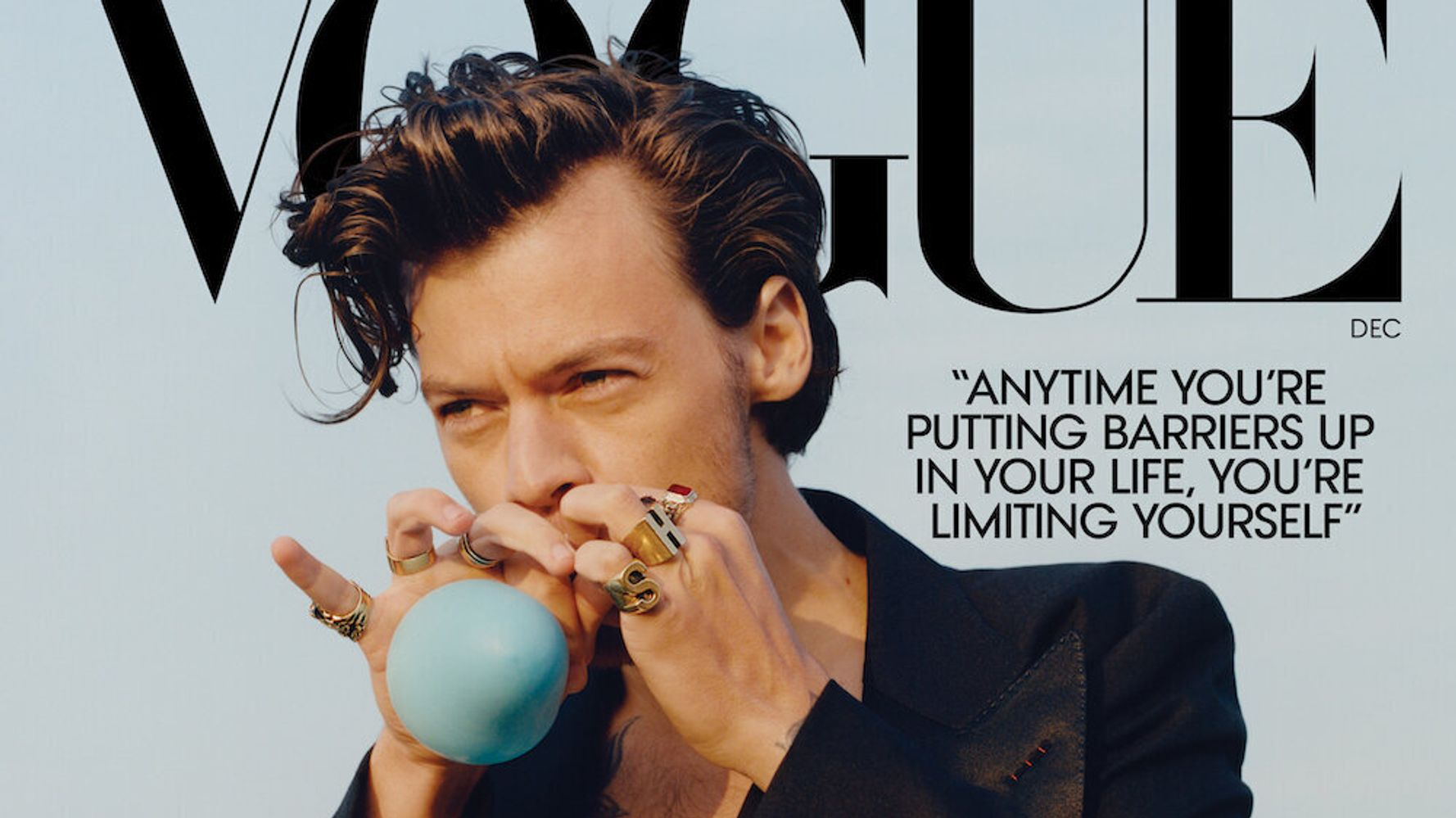 Harry Styles On Challenging Gender Norms Through Style: Women's Clothes Are 'Amazing'