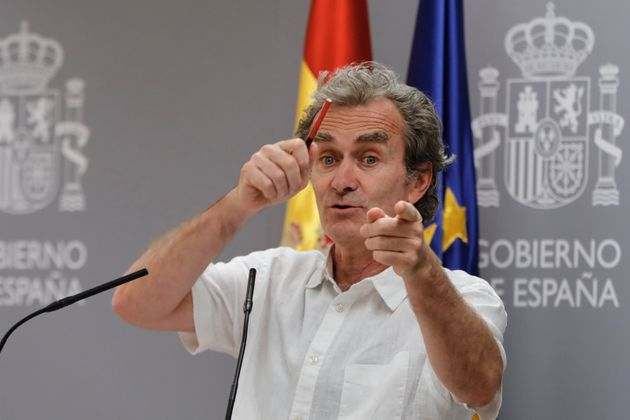Fernando Simón, en una rueda de