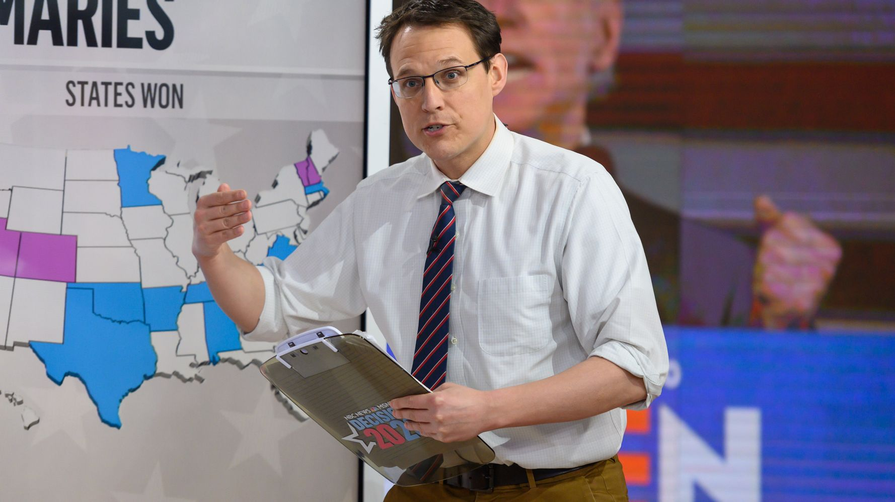 Sales Of Steve Kornacki's Gap Khakis Soar After Election Night