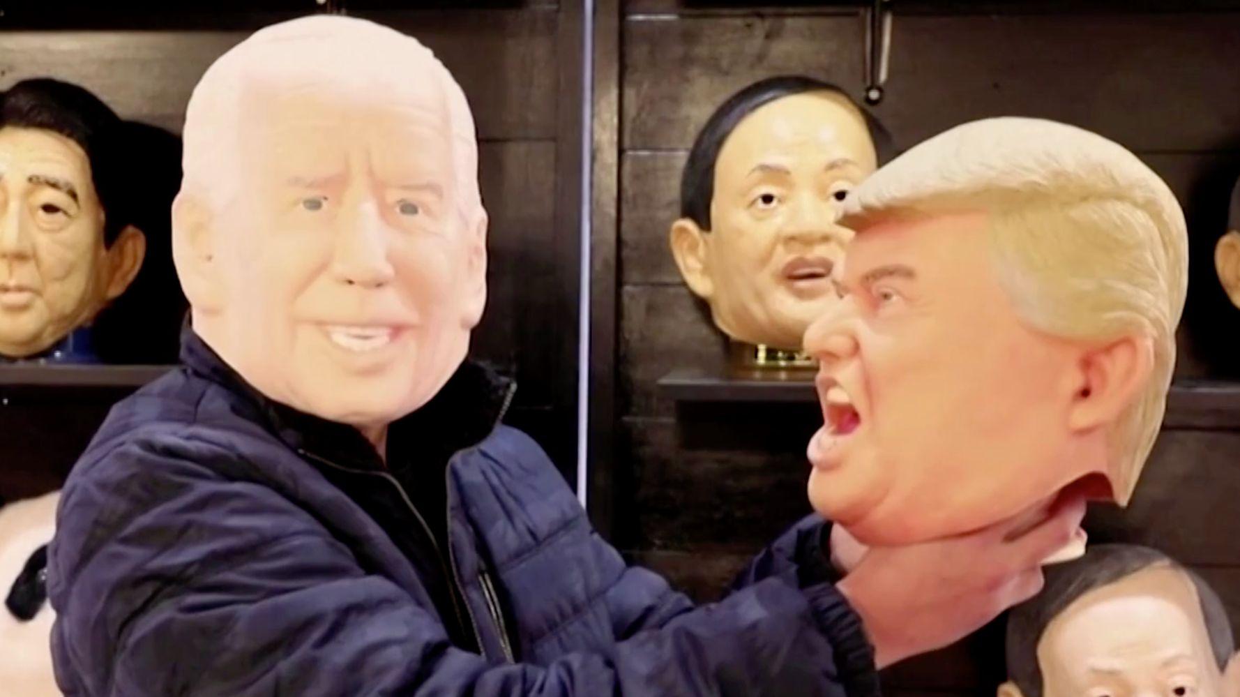 Japanese Mask Maker Dumps Trump, Embraces Biden